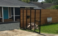Custom privacy fence and gate